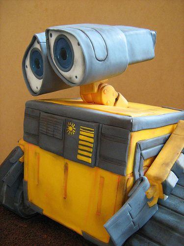 Wall-E cake 3 | Flickr - Photo Sharing!