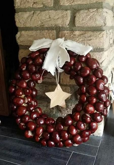 DIY Ideas for Fall Decorating, Chestnuts Home Decorations and Gifts