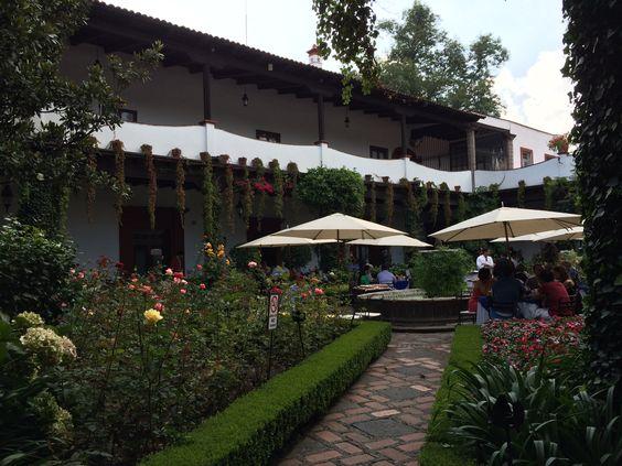 San Angel Inn Restaurant Mexico DF