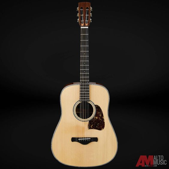 Ibanez AVD1NT Artwood Vintage High Gloss Natural Acoustic Guitar #Ibanez