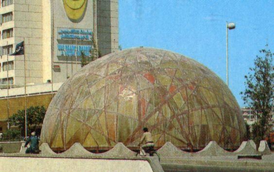 Zevaco's dome in Casablanca (Morocco)