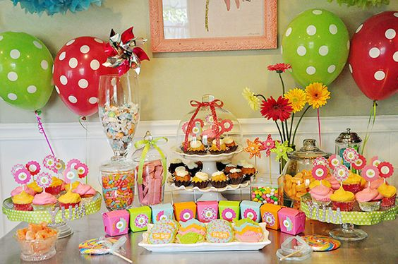 Bright and Cheery Tea Party