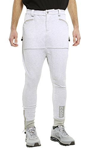 Cote De Nuits Mens French Terry Sweatpant L Heather Grey