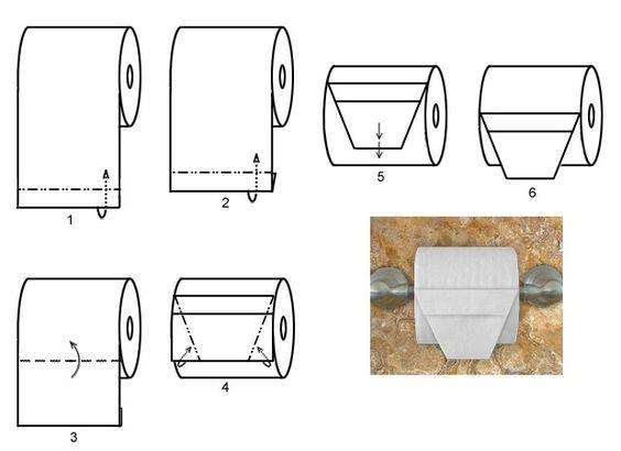 Origami Toilet Paper   Blog   HGTV Canada