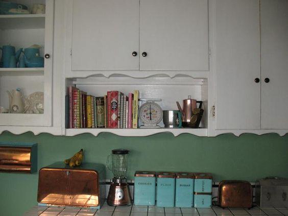 Same Vintage Kitchen Knick Knacks Diffe Setting