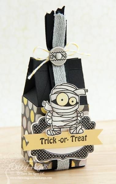 trick or treat by limedoodle - Cards and Paper Crafts at Splitcoaststampers