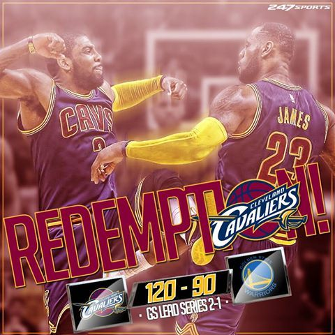 Our Cleveland Cavaliers just CRUSHED the Warriors in the NBA Finals! 6/8/2016