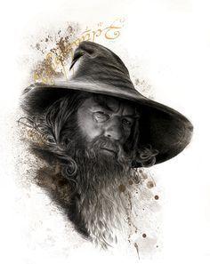 Gandalf The Legendary by IceGirl84.deviantart.com on @deviantART