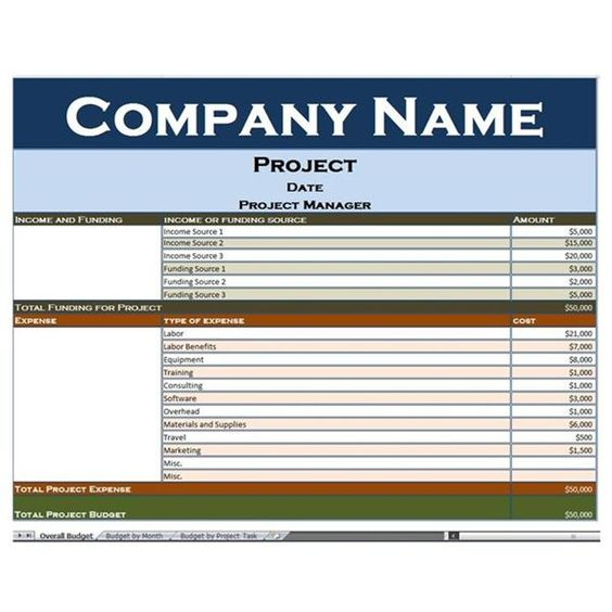 great excel templates