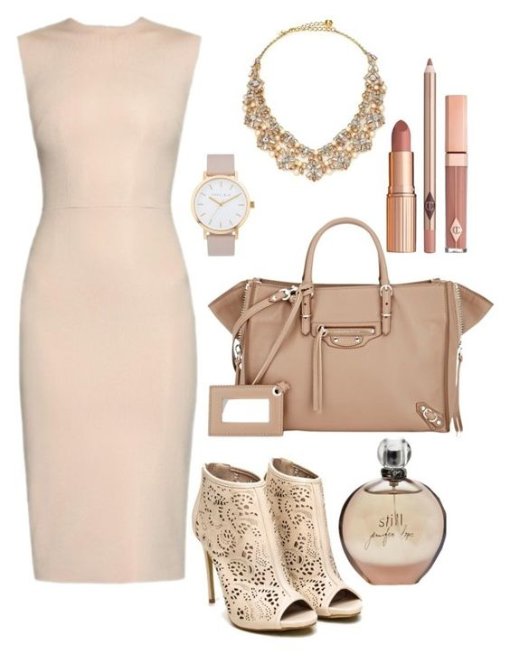 """""""Boss Lady"""" by wowderptasticbaby on Polyvore featuring JLo by Jennifer Lopez, Raey, The Horse, Balenciaga, Kate Spade, Dolce Vita and WorkWear"""