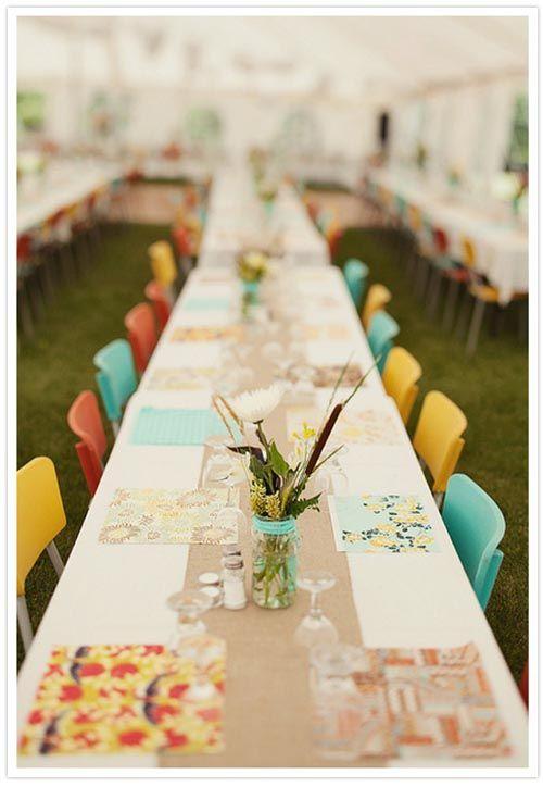 lovely wedding table