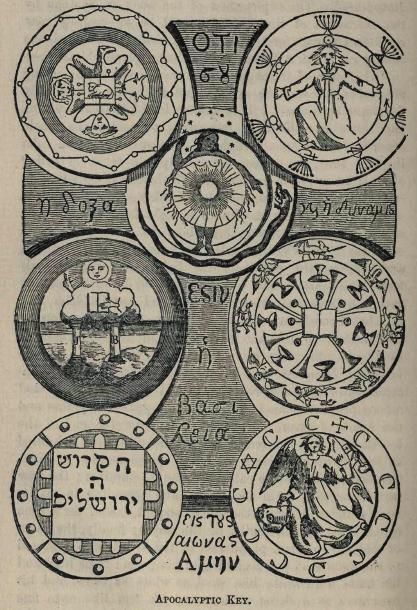 The Seven Seals of St. John. I just love occult nonsense!