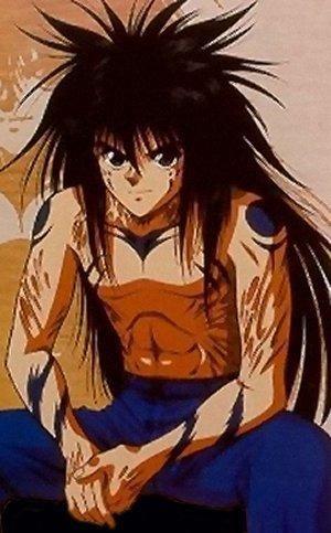 Yusuke Urameshi (demon form) from the anime YuYu Hakusho ...