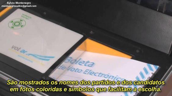 Urna Argentina - Um exemplo para o Mundo!