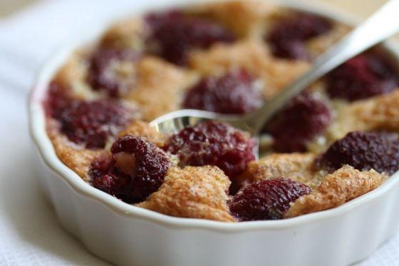 Tylko dla mnie – maliny zapiekane w koglu moglu   Raspberries