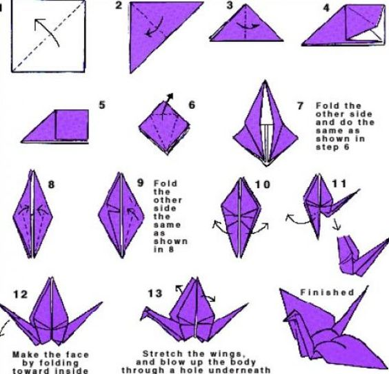 step step by step oragomi how to do origami step by step