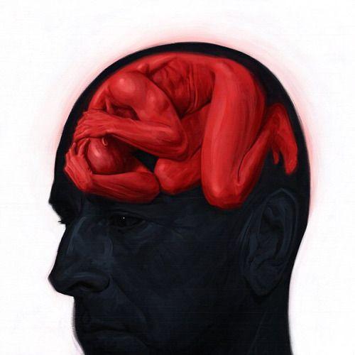 """"""" Paintings vlog tfa95dbs: Brain Sick II by carts """""""