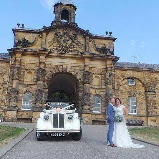 Instagram Wedding Car Vintage Car Wedding Derbyshire