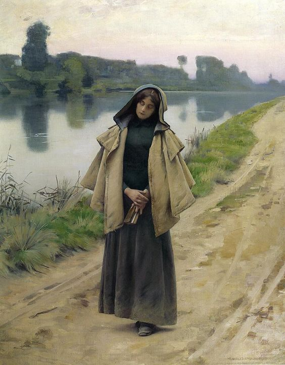 Charles Sprague Pearce - Solitude