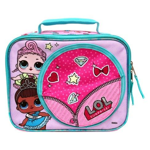 L O L Surprise Lunch Tote Pink Target Lunch Tote Lol Tote