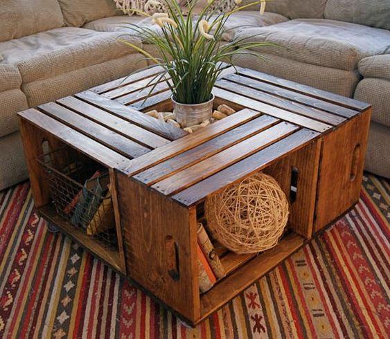 couchtisch deko pinterest selbermachen selber. Black Bedroom Furniture Sets. Home Design Ideas