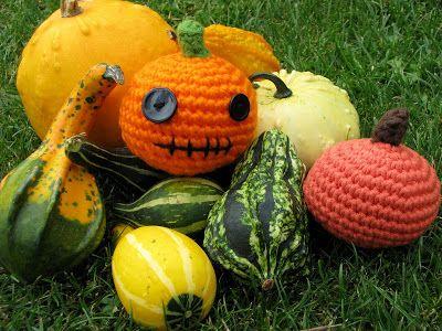 Lady Crochet: Pumpkins & Crochet - Calabazas & Crochet