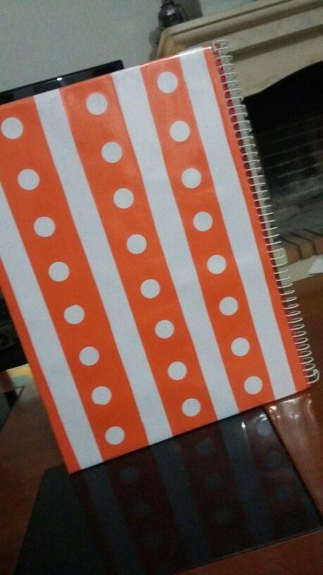 DIY : caderno com padrão