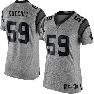 Nike jerseys for sale - Women's Carolina Panthers Luke Kuechly Nike Gray Gridiron Gray ...