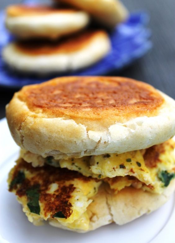 Sun, Spinach and Breakfast sandwiches on Pinterest