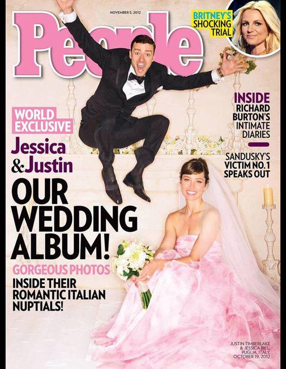 Justin Timberlake et Jessica Biel / Les meilleures photos de mariage de stars
