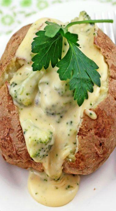 broccoli cheese baked potato