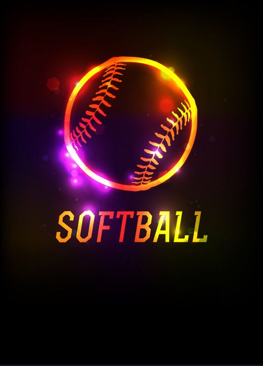 Softball Backgrounds Softball Backgrounds Softball Fan Softball