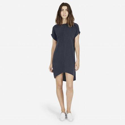 The Silk Short-Sleeve Dress - Tees- The o&-39-jays and Short sleeves