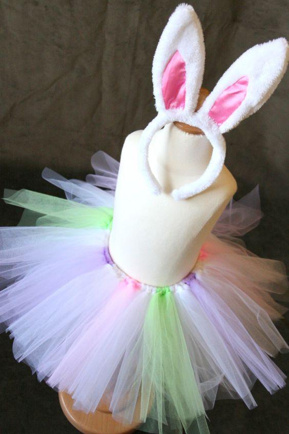 Little Bunny Foo Foo Tutu Set. $20.00, via Etsy.