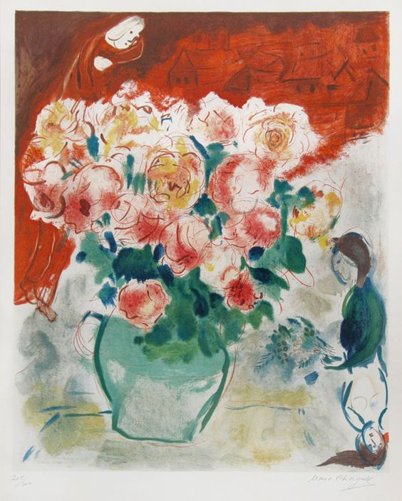 #MarcChagall | The Bouquet | Masterworks Fine Art Inc.