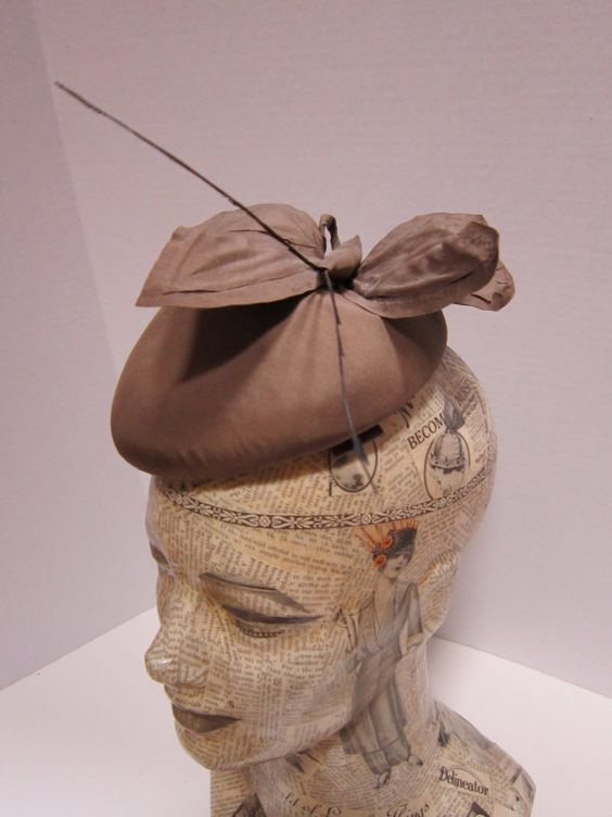 Vintage butterfly hat by dejavuvintageretro on Etsy, $48.00