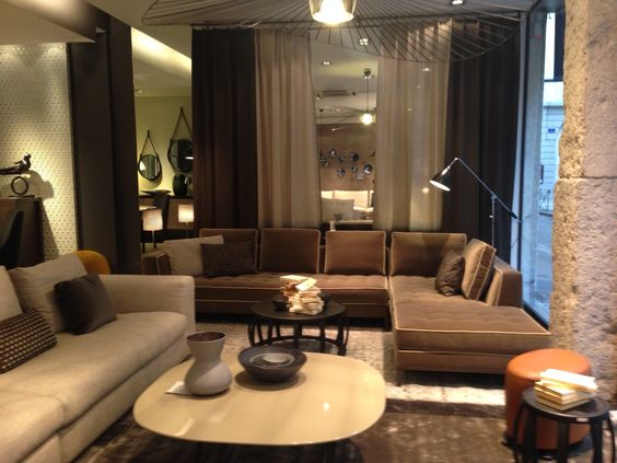 claude cartier d coration mobilier contemporain lyon canap lucrezia maxalto table basse. Black Bedroom Furniture Sets. Home Design Ideas