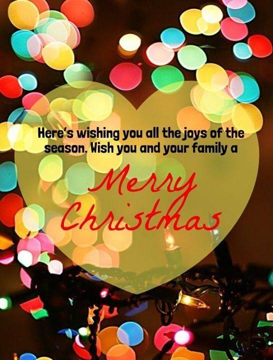 Wishing you a Very Merry Christmas