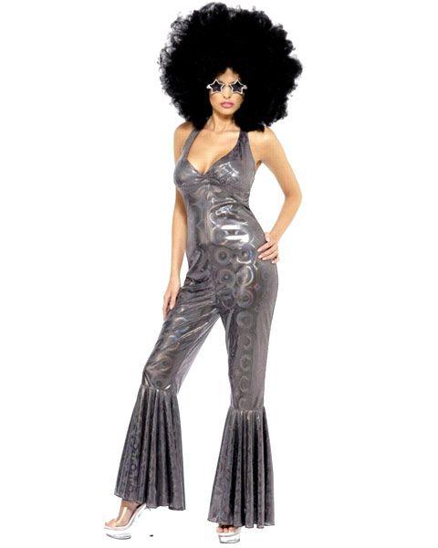 Afro Wig Adult 70s Disco Hippie Halloween Costume Fancy Dress