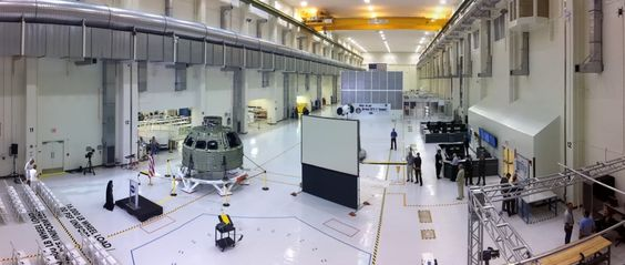The Operations and Checkout Facility at NASA Kennedy Space Center.  We were covering the arrival of the Orion EFT-1 crew module.