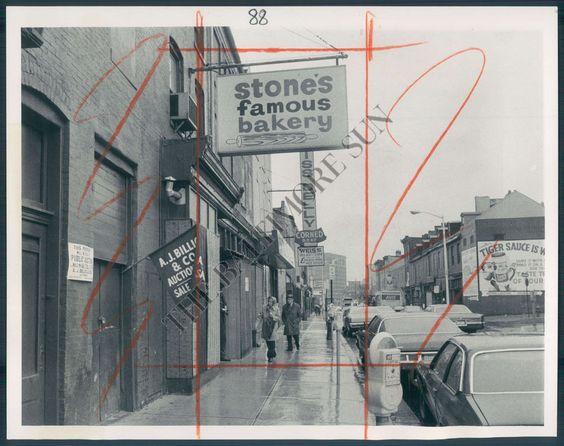 Stone's Famous Bakery, Lombard Street