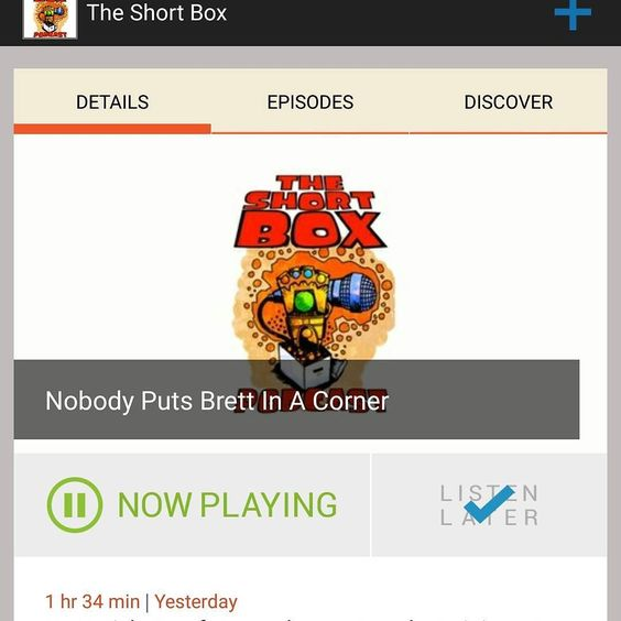 Its #Monday and I need something to put me to sleep after the gym...better listen to @theshortboxjax ! #podcast #comics #comicbook #jax #igdaily #crap #Ed2016 #GAAM