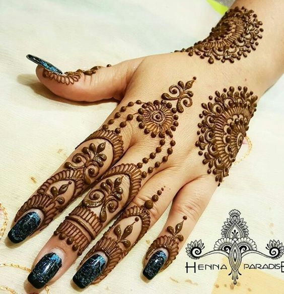 Simple Henna Design Bridalsimple Henna Bridal Mehndi Designs For