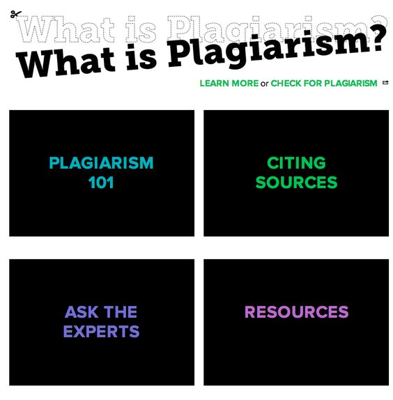 Great Resources to Teach Students about Plagiarism and Citation Styles ~ Educational Technology and Mobile Learning