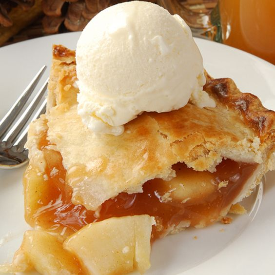 A Classic Apple Pie Recipe Served Best Warm With A Scoop