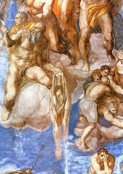 Michelangelo laatste oordeel: