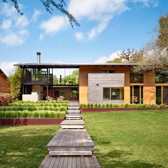 AIA housing award winners: Hog Pen Creek Retreat; Austin, Texas by Lake|Flato Architects