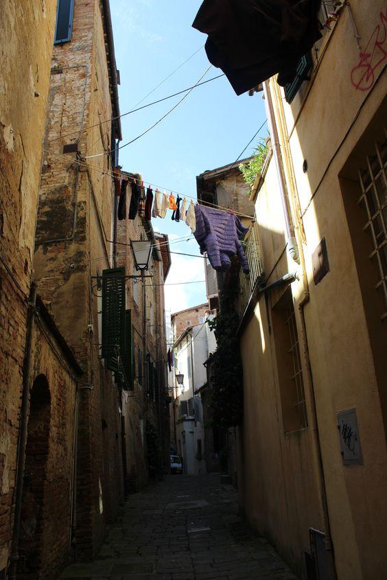 Ruelles Toscanes, SIENNE