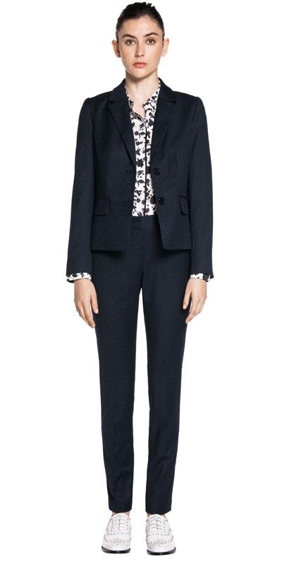 Jackets | Mini Spot Two Button Jacket