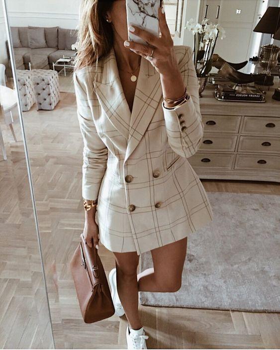 37+ Blazer dress outfit ideas